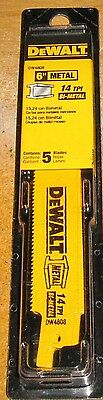 Straight Back Reciprocating Blade - DeWalt DW4808 6