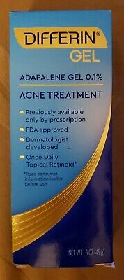 Differin Adapalene Acne Treatment Gel (46.3 ml)