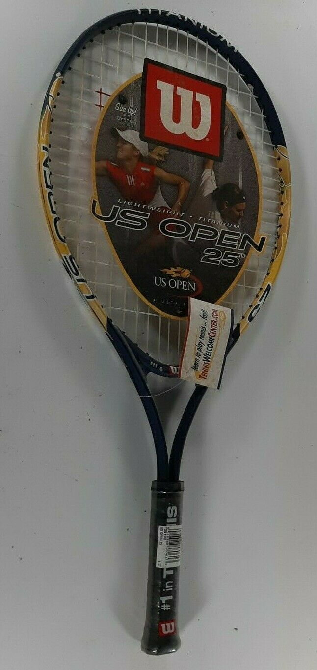 Wilson US Open Junior Lightweight Titanium Tennis Racquet 25