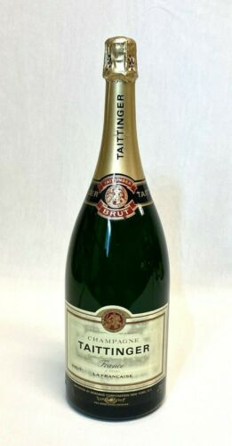 Taittinger Champagne -  MAGNUM (1.5L) - Sealed Empty - Display Bottle