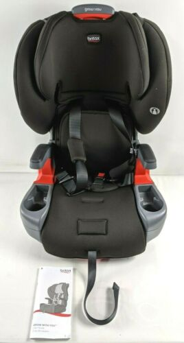 Britax Grow with You Harness-2-Booster Car Seat Dusk 21 x 19 x 25 inches Open
