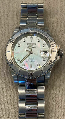 Invicta Mens Watch Automatic Professional 200m Water Resistant- Mother Of Pearl