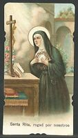 Estampa Antigua De Santa Rita Andachtsbild Santino Holy Card Santini -  - ebay.es