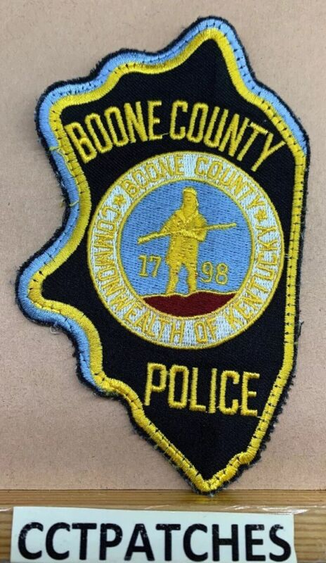 BOONE COUNTY, KENTUCKY POLICE SHOULDER PATCH KY