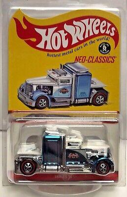 Hot Wheels 2017 Red Line Club RLC Neo Classics Series 14 Convoy Custom #