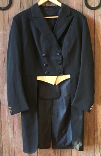 Shadbelly Coat with breaches and tie