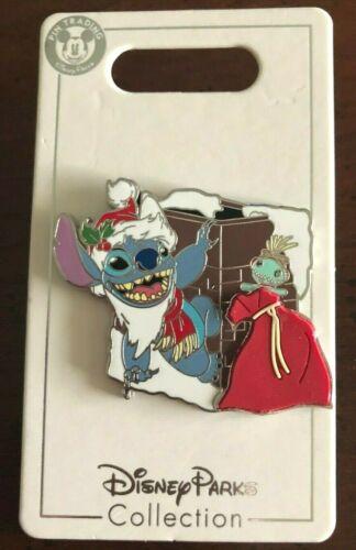 New Disney Parks 2019 Christmas Santa Stitch Open Edition Pin