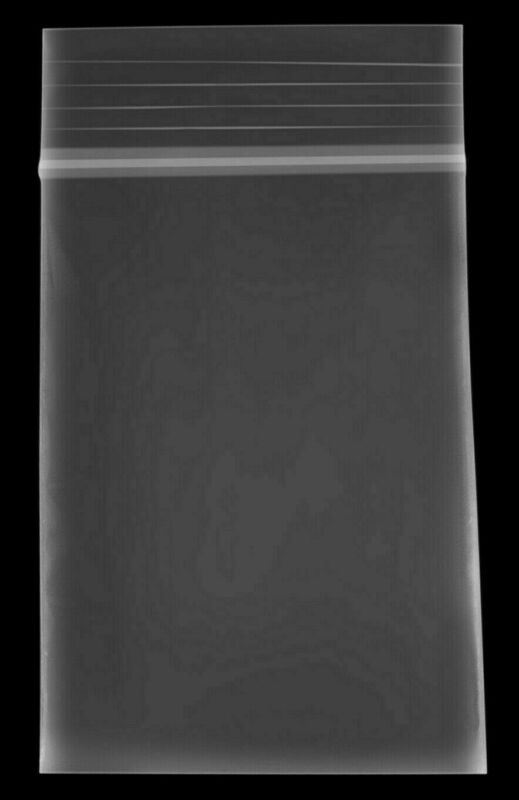 1000 2x3 Clear Reclosable 2-Mil Top Zip Lock Plastic Bags Poly Bag Jewelry Bags