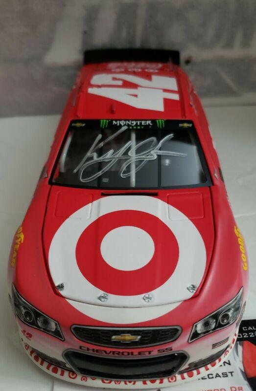 NASCAR 2017 KYLE LARSON #42 FONTANNA RACE WIN TARGET 1//24 CAR