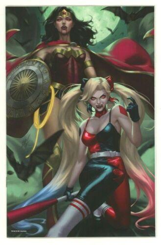 DC Comics DC VS. VAMPIRES #1 EJIKURE Glow-In-The-Dark Team Variant Cover
