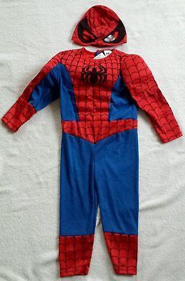 Kinder Jungen Kostüm Spiderman Gr. 92 von H&M (Fasching/Halloween)