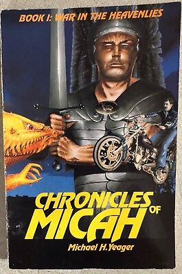 CHRONICLES OF MICAH signed by Michael H. Yeager (1994) JIL SF SC 1st ()