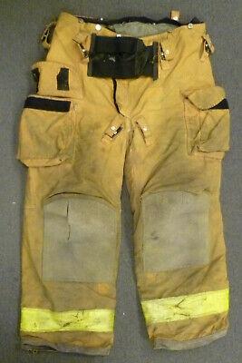 40x30 Janesville Tan Firefighter Pants Turnout Bunker Fire Gear P030