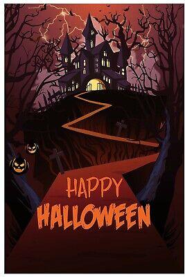 Happy Halloween 18+ (Happy Halloween Garden Flag Outdoor Banner 12x18 2-Sided Heavy Duty Yard)