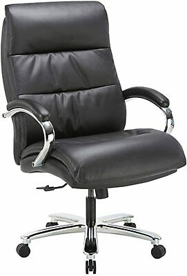 Clatina Ergonomic Big Tall Executive Office Chair With Bonded Leather 400lbs