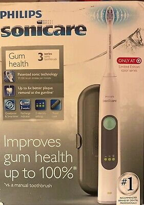 Philips Sonicare 3 Series Electric Toothbrush - White/Grey (HX6631/96)