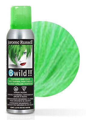 Jerome Russell B Wild Temporary Hair Color Spray 100mL Jaguar - Green Hair Spray
