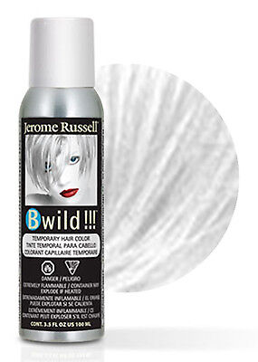 Jerome Russell B Wild Temporary Hair Color Spray 100mL Siberian White