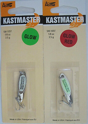 Choice of Color Kastmaster 1//2 oz Casting Fishing Lure Spoon Salt//Freshwater