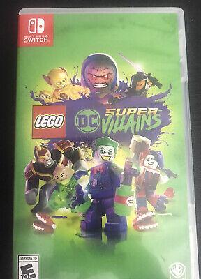 Lego DC Super Villains Warner Bros. Game for Nintendo Switch
