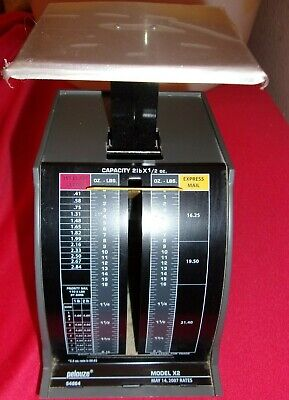 Pelouze X2 Mechanical Postal Scale Used