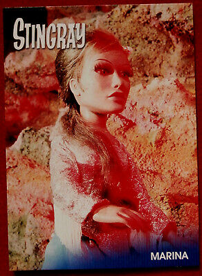 STINGRAY - MARINA (Bridget Bardot) - Card #47 - Gerry Anderson Collection