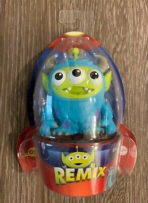 New! Disney PIXAR Remix Toy Story Alien 03 Sulley from Monsters Inc.