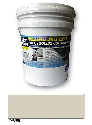 Norklad 200 - 100 Solids Epoxy - Garage Floor Paint Taupe