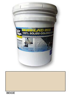 Norklad 200 - 100 Solids Epoxy - Garage Floor Paint Beige