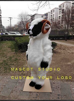 Sheep Mascot Costume Cosplay Party Game Dress Outfit Advertising Christmas Adult](Sheep Mascot Costume)