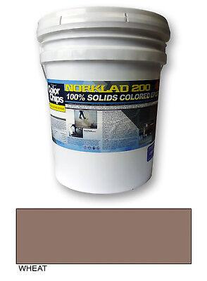 Norklad 200 - 100 Solids Epoxy - Garage Floor Paint Wheat