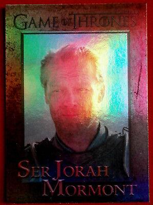 GAME OF THRONES - SER JORAH MORMONT - Season 4 - FOIL PARALLEL Card #55