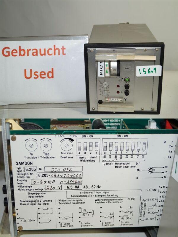 samson 6205 elektrische dreipunkt schrittregler  system 6000