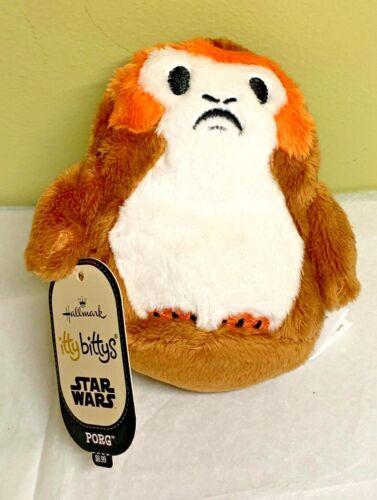Hallmark Itty Bittys Star Wars PORG Last Jedi Plush Stuffed Animal NWT SOLD OUT!