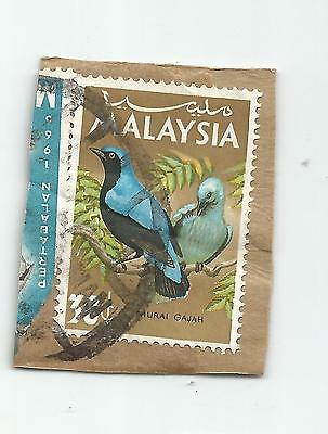 MALAYSIA; 1965 Birds  Irena puella ; USED