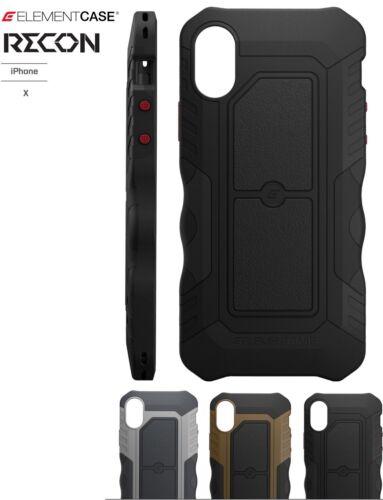 premium selection 0f37e 22cf1 Element Case RECON case for iPhone X/Xs -