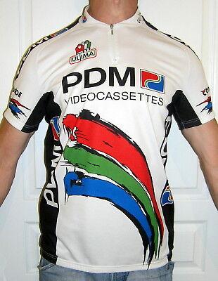 RARITäT trikot ULTIMA PDM VIDEOCASSETTES concorde Tour de France CYCLING  Jersey fb5ad9a4a