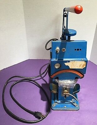 Vintage Geo Knight Cap Heat Press 178b For Parts Or Repair Only