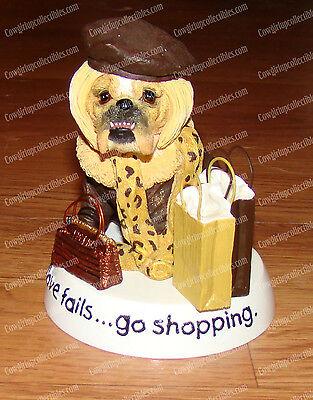 Zelda Wisdom, If LOVE Fails, Go Shopping ( by Westland, 16616) Bulldogs