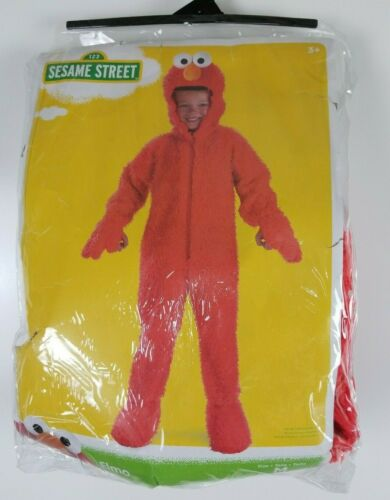 Sesame Street Elmo Toddler Halloween Costume by Disguise M (3T-4T)