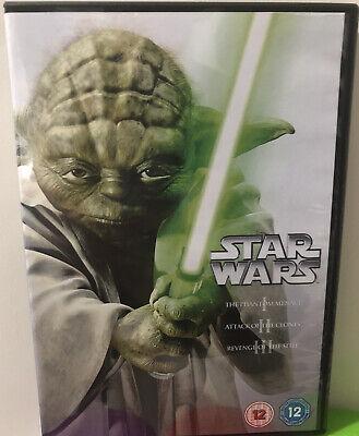 Star Wars: The Prequel Trilogy (Episodes I-III) [DVD] Disney Lucasfilm Sci Fi