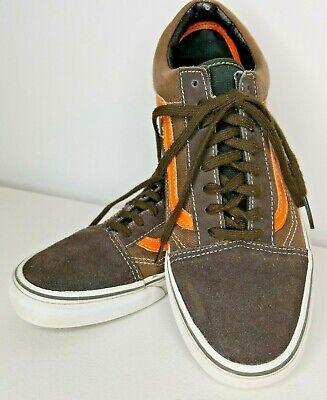 Vans Off the Wall Old School Skate Shoes Brown Mens 8 Womens 9.5, usado comprar usado  Enviando para Brazil