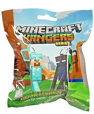 Minecraft Hanger Series 2 Mystery Pack Blind Bag Collectible Toy Clip New Sealed