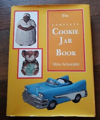 COMPLETE COOKIE JAR BOOK By Mike Schneider Illustrated Antique Collectors