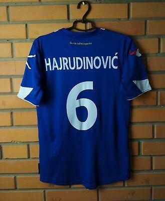 Hajrudinovic Bosnia And Herzegovina jersey small football shirt 2011 Home Legea image