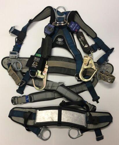 DBI SALA 1108652 ExoFit Tower Climbing Harness W/ Dual Nano-Lok 6