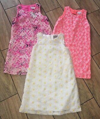 The Childrens  Place  Sleeveless Crochet Dress Sz M/M 7/8  nwts / nwots   tiebin