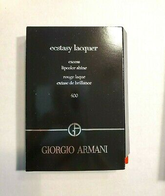 GIORGIO ARMANI Ecstasy Lacquer Excess Lipcolor Shine 400 1.5ml New In Box