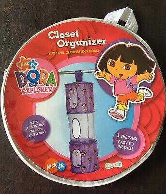 Dora The Explorer CLOSET ORGANIZER For Toys, Clothes, Storage 3 Shelves Nick Jr - Dora The Explorer Storage