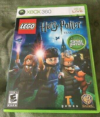 LEGO Harry Potter: Years 1-4 (Microsoft Xbox 360,2010) COMPLETE, TESTED. WORKS